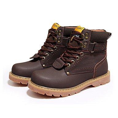 Giallo Dorato Tessuto Sneakers brown Marrone Da Comoda AIURBAG Casual uomo Piatto az8nwHYq