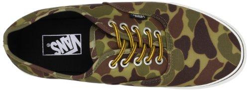 U Vans Scarpe Donna Sportive Canvas Authentic Waxed Verde Vert Skateboard vpdHqfap
