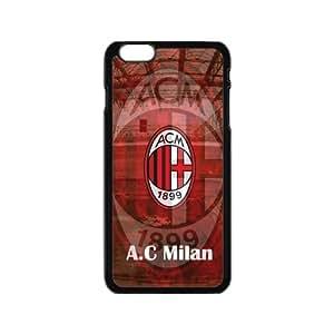 "Homecase Retro Italy AC Milan Logo Case Cover for Iphone 6 4.7"""