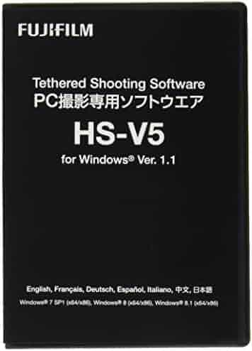 Fujifilm HS-V5 Shooting Software 1.1 for Windows