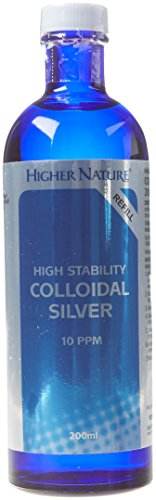 Higher Nature Active Silver (High Stability) 200ml lqd