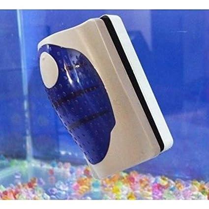 Imanes flotantes para pulzia Acuario Cepillo calamitata Cristal Algas suciedad