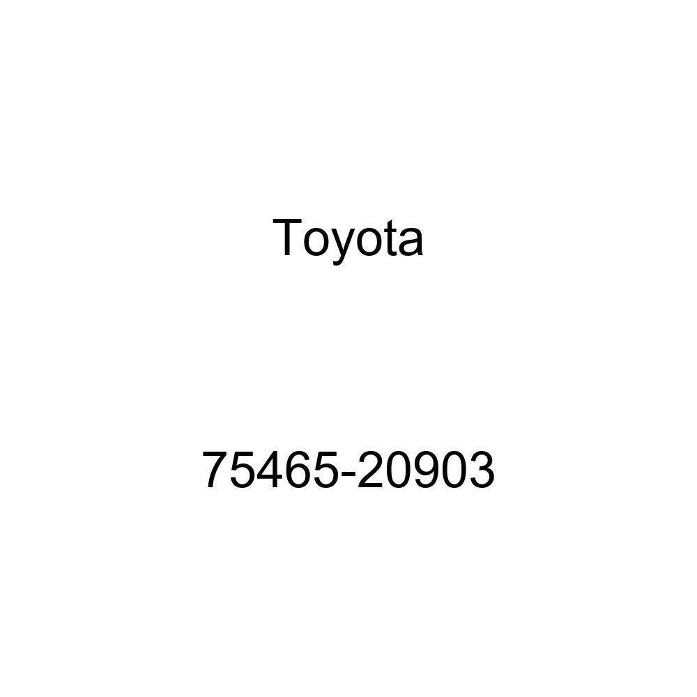 TOYOTA 75465-20903 Name Plate