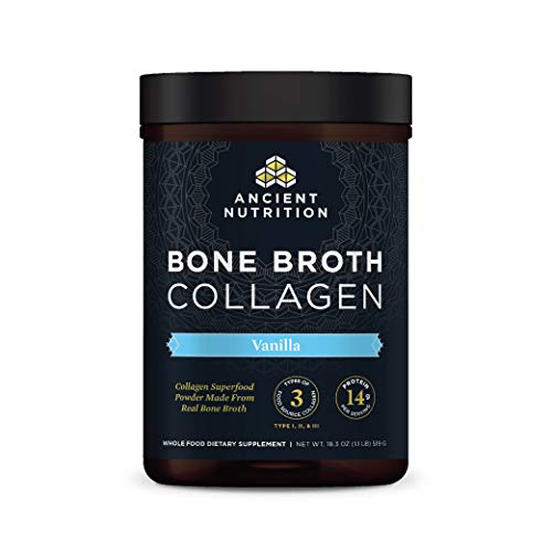 Bone-Broth-Collagen-Powder-Vanilla-Food-Sourced-Hydrolyzed-Multi-Collagen-Supplement-Supports-Joints-Skin-and-Nails-Formulated-by-Dr-Josh-Axe-Non-GMO-Made-Without-Gluten-Dairy-183oz