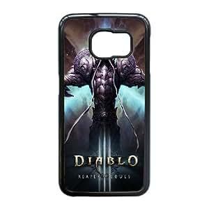 Diablo for Samsung Galaxy S6 Edge Cell Phone Case & Custom Phone Case Cover X38A880356