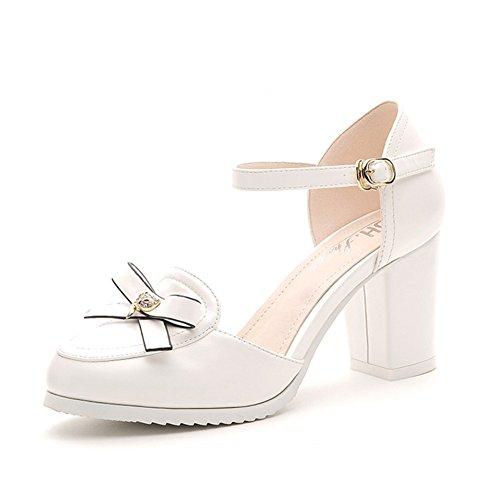 Artificial Mujer Pu De Primavera Durable Modelando Verano Zapatos WEeH9YD2I
