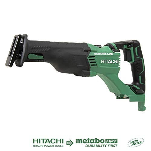 - Hitachi CR18DBLP4 18V Cordless Brushless Reciprocating Saw