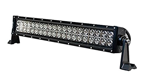 IPCW 11120-30 21 LED Flood Light Bar 2 Row 40 LED, 120W. 30-Degree. S1-Side Mount, Rivets