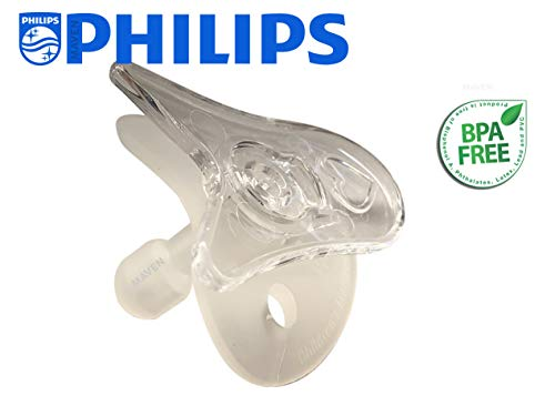 Wee Thumbie - Philips Clear Preemie Pacifier, Gestational Age Less Than 30...