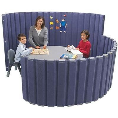 Classroom Divider in Slate Blue (10 ft. L x 48 in. H)