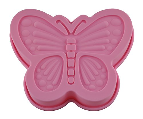 Silicone Butterfly Cake Pan <br>6.6 x 6.4 x 1.5 inches
