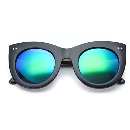 c9828418c5 WearMe Pro - Round Retro Semi Rimless Retro Sunglasses - Buy Online in  Oman.
