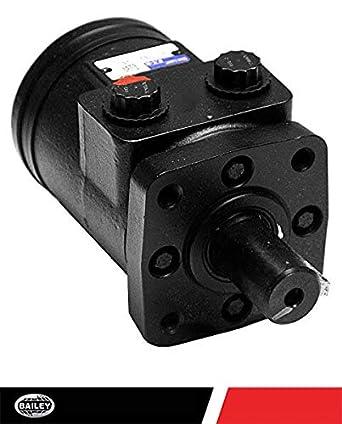 - 4-Bolt: 9.7 CID Eaton Hydraulic Motors 1//2 NPT Ports 254011 1650 PSI 342 RPM 2059 Torque Char-Lynn H Series
