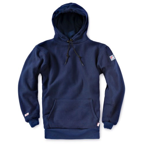 Tyndale Men's Double-Ply Heavyweight FR Sweatshirt XLarge Navy Blue