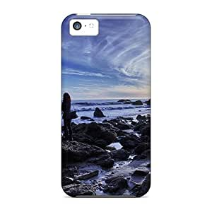 Andre-case Brave Girl case cover Protector Specially Made For LrP9xBcLuwe Iphone 5s for you Beautiful View # El Matador Malibu