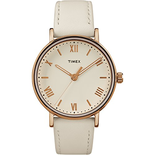 timex-womens-tw2r28300-southview-37-white-rose-gold-tone-cream-leather-strap-watch