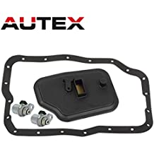 AUTEX 4F27E FN4AEL Transmission Shift Solenoid A&B Filter Kit Fits For 2013 2014 Ford C-Max/2000 2001 2002 2003-2012 Ford Focus/10 11 12 13 Ford Transit Connect/2006 2007 2008 2009 2010 Mazda 2 3 5 6