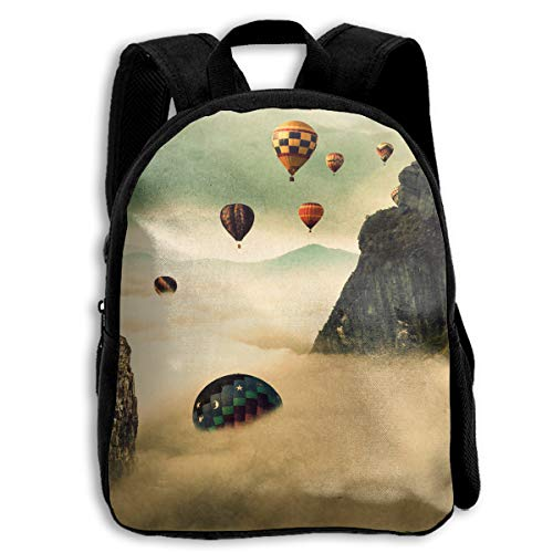 AACC-Bag Children's Bags Hot Air Balloon Boys and Girls Backpack¡¢600D Plain Oxford Coth ()