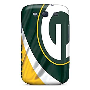 Galaxy S3 SzE1511HuhJ Green Bay Packers Tpu Silicone Gel Case Cover. Fits Galaxy S3
