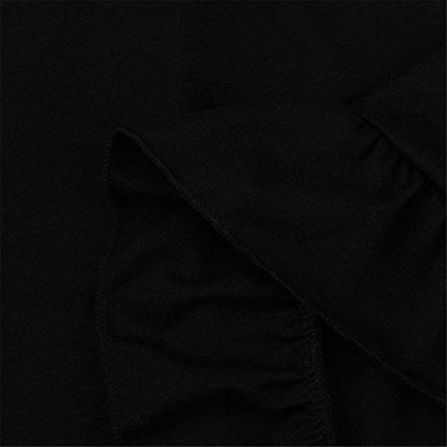 Moda Volant Abbigliamento Casual Donna Elegante Partito Abiti Manica Lunga Abiti Senza Maniche Estate Primavera Prom Costume Mode Elegante Pizzo Chiffon Poliestere Cotone