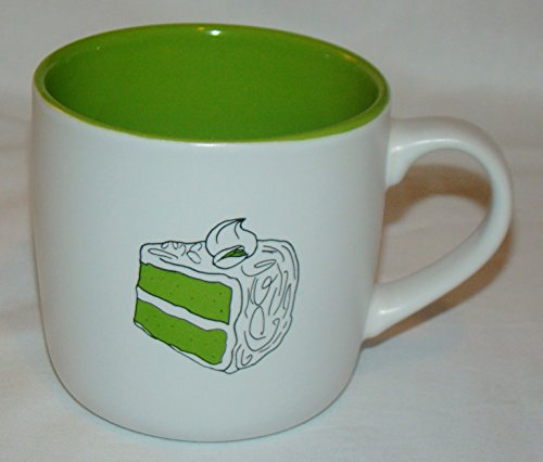 Pistachio Unripened Tea Cake Recipease Gift Mug by About Face Designs - 12 Oz - MUG method - Bakes cake in Mug