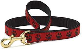 product image for Up Country Red & Black Paws Dog Leash