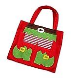 Aikesi 1 Pcs Bag Candy Bag Tote Bag Decoration Supplies 26.522.5CM Green
