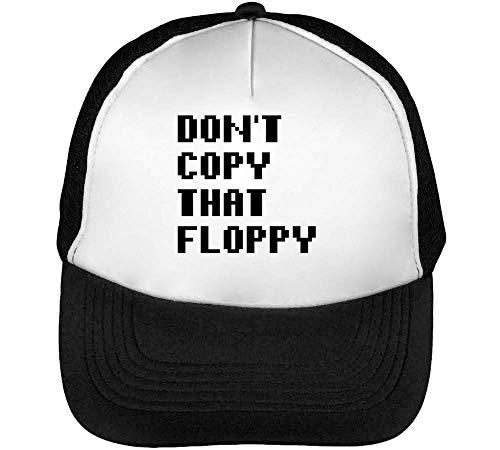 Floppy Don'T Snapback Blanco Gorras That Copy Beisbol Hombre Negro aEEHwSq