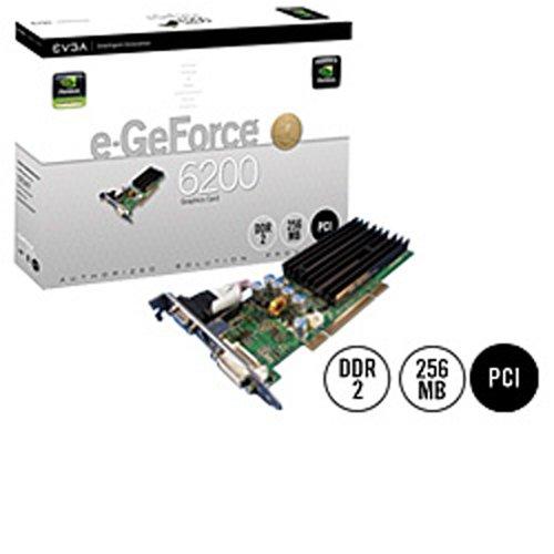 (EVGA 256-P1-N399-LX e-GeForce 6200 256MB DDR2 PCI Graphics Card )