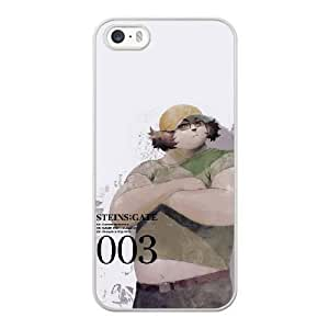 HD exquisite image for iPhone 5 5s Cell Phone Case White itaru hashida steins gate MAI0606307