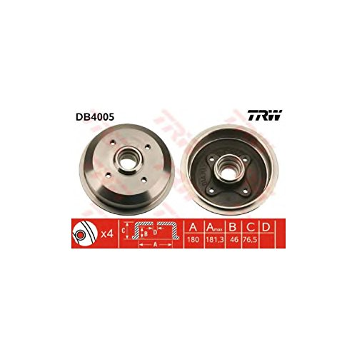 TRW DB4005 Brake Drums: