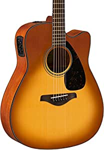 yamaha fg series fgx800c acoustic electric guitar sand burst musical instruments. Black Bedroom Furniture Sets. Home Design Ideas