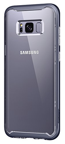 Spigen Neo Hybrid Crystal Galaxy S8 Case with Premium Reinforced Dual Frame Clear and Slim Protection for Samsung Galaxy S8 (2017) - Orchid (Orchid Case)