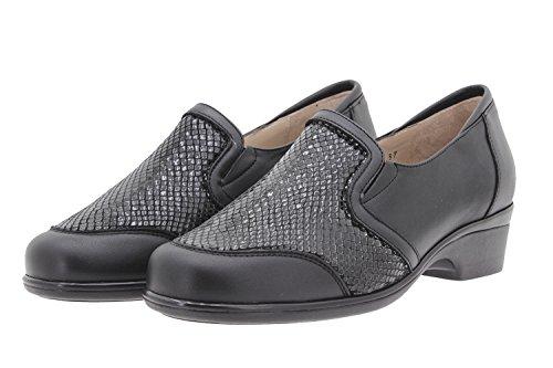 Calzado Mujer Confort de Piel Piesanto 9614 Zapato Elástico Casual Cómodo Ancho AaDyKRW0