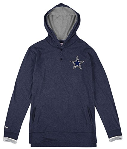Dallas Cowboys Mitchell & Ness Seal the Win Tee- XL - Navy Seal Embroidered T-shirt