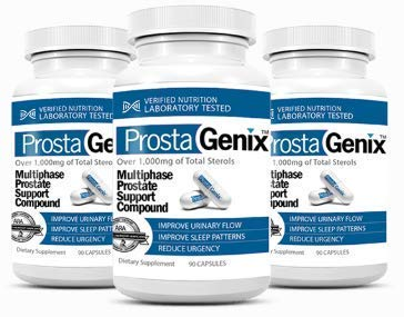 ProstaGenix Multiphase Prostate Support – 3 Bottles