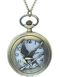 The Hunger Games LOGO Mock Bird Pocket Watch Cool Original Packaging Hunger Games Design Watch