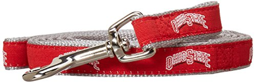 NCAA Ohio State Buckeyes Dog Leash, Small by Sporty K9