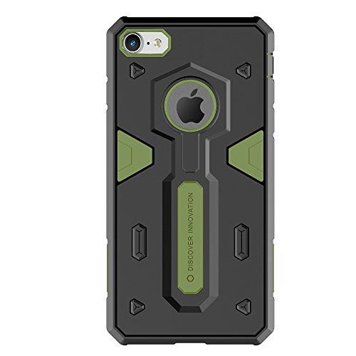 Meimeiwu Shockproof Hybrid TPU + PC Rüstung Hard Case Schutzhülle für iPhone 7 - Grün