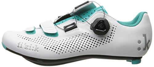 BOA Green Road Women's R4 White Cycling Emerald Donna Fizik Shoes 7xnRw6g