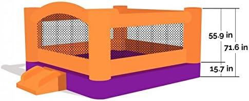 Amazon.com: Castillo hinchable para fiestas Moonwalk, de ...