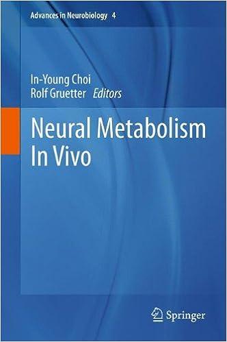 Neural Metabolism In Vivo: 4 (Advances in Neurobiology)