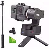 Feiyu WG2 Updated 3-Axis Wearable Waterproof Gimbal for GoPro Hero5 / GoPro Hero4 / Session and Cameras with Similar Dimensions w/ EACHSHOT Cleaning Cloth