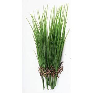 FYYDNZA 45Cm Plastic Simulation Aquarium Green Grass Fake Water Plants Aquarium Plants 114