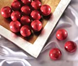 Rudolph Noses - Cherry Milk Chocolate Malted Milk Balls Gift Bag by South Bend Chocolate Company - 8 Oz