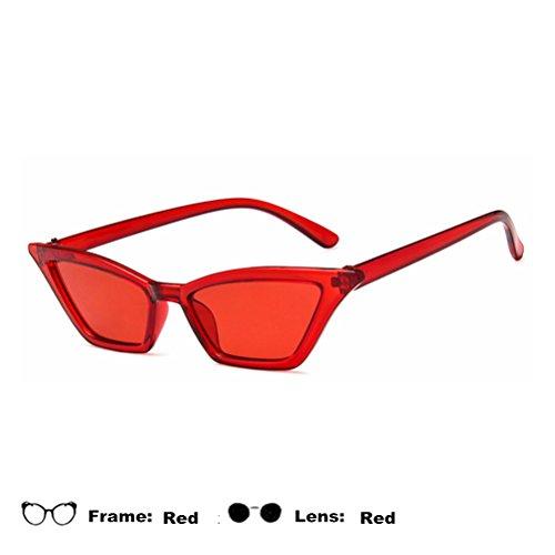 Soleil Rouge Accessoires De Lunettes Visibilité En Lentille Des Pêche Voyageant Haute Œil Air Transparent Chat Femme Cadres Plein Maibar CqS1wHa