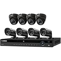 8 channel home security system with 8 high definition IP cameras