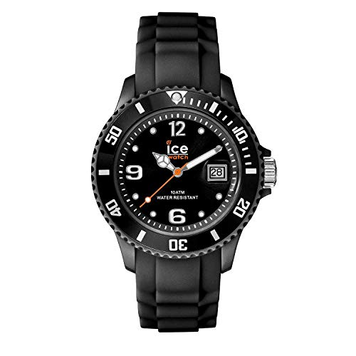 Ice-Watch Women's SIBKSS09 Sili Collection Black Dial Watch (Watch Ice)