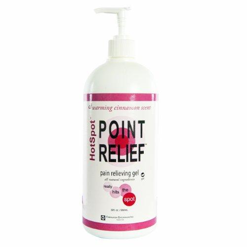 Point-Relief 11-0782-1 HotSpot Lotion, Gel Pump, 32 oz ()