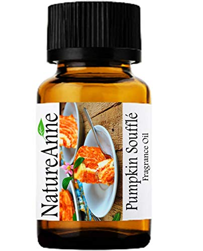 Pumpkin Souffle Premium Grade Fragrance Oil - 10ml - Scented Oil - for Diffuser Oils, Making Soap, Candles, Lotion, Home Scents, Linen Spray, Lotion, Perfume, Beard Oil,